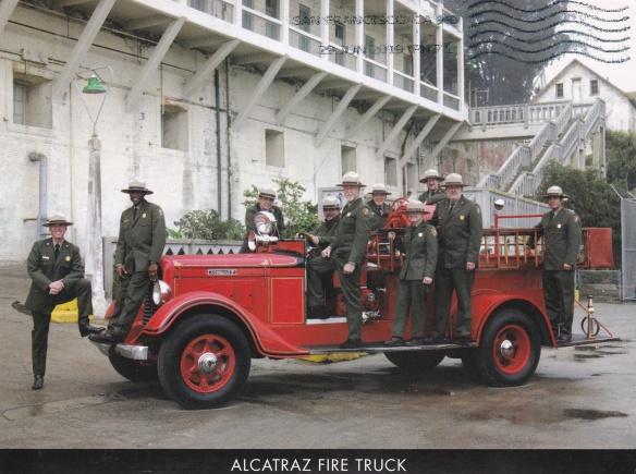 AZ firetruck with Rangers